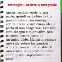 Immagini, scritte e fotografie