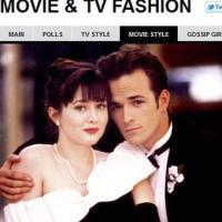 Shannen Doherty in Beverly Hills 90210, 1993