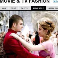 Emma Watson in Harry Potter e il calice di fuoco, 2005