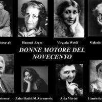 Mappa concettuale sulle donne motore del novecento