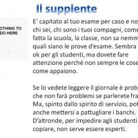 Il supplente