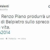 Ironia sulla traccia di Renzo Piano