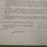 Matematica: parte di una traccia