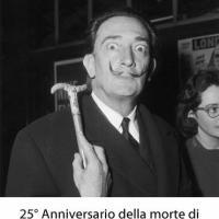 25° anniversario della morte di Salvador Dalì