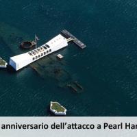 75° anniversario dell'attacco giapponese a Pearl Harbor