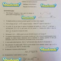 Matematica seconda prova 3