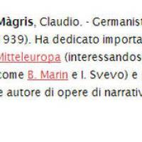 Chi è Claudio Magris