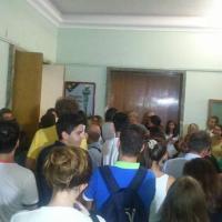 Medicina e Odontoiatria alla Sapienza: studenti in fila