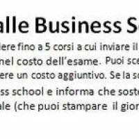 Inviare il punteggio alle Business School