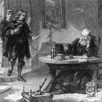 Il poeta inglese Milton nel 1638 visita Galileo a Venezia