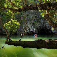 Il fiume sotterraneo di Puerto-Princesa nelle Filippine