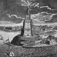 Il faro di Alessandria d'Egitto