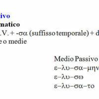 Aoristo I sigmatico