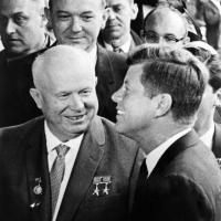 Guerra Fredda: il presidente kennedy e il sovietico Khrushchev