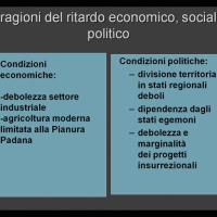 Condizioni economiche e politiche