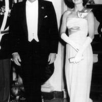 Il Presidente Kennedy e la First Lady Jackie