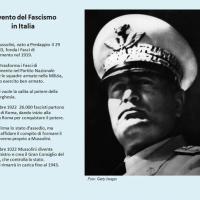 Avvento del fascismo