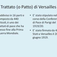 Trattato di Versailles