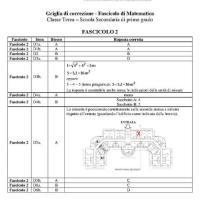 Soluzioni Invalsi 2013 Matematica Fascicolo 2 pagina uno