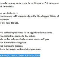 Invalsi 2013 la quinta domanda di italiano