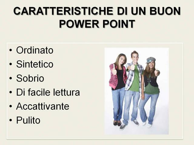 Un buon Power Point
