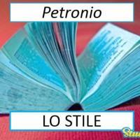 Versione di latino, lo stile di Petronio