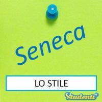 Versione di latino, lo stile di Seneca