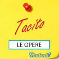 Versione di latino, le opere di Tacito