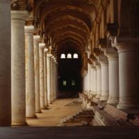 Il colonnato dell'università