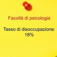 Secondo posto: psicologia