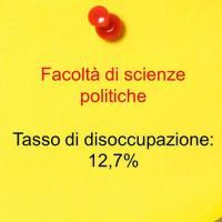 Sesto posto: scienze politiche