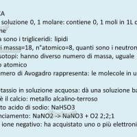 Domande e risposte di chimica