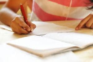 I bigliettini per i compiti in classe suddivisi per materia