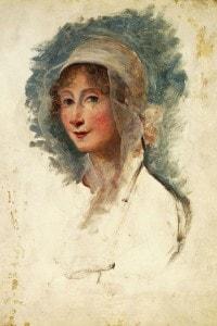Ritratto di Giulia Beccaria, madre di Alessandro Manzoni