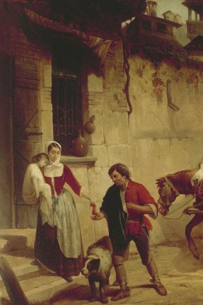L'arrivo della peste a Milano