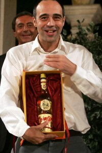 Niccolò Ammaniti alla consegna del Premio Strega 2007