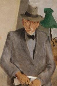 Ritratto di Luigi Pirandello, collezione privata