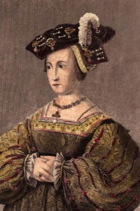 Anna Bolena, seconda moglie di Enrico VIII e madre di Elisabetta I