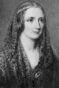 Ritratto di Mary Shelley