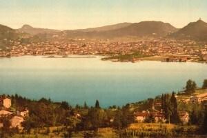 Il lago di Como, dove inizia l'opera manzoniana