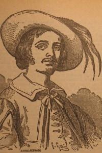 Renzo Tramaglino raffigurato nell'edizione del 1840 del romanzo