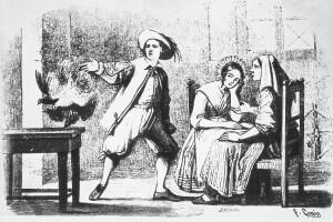 Illustratione di Francesco Gonin per l'edizione del 1840