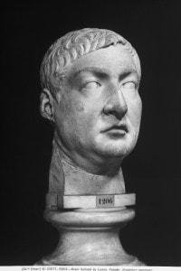 Testa rappresentante Gneo Pompeo Magno