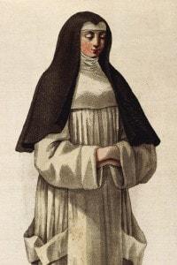 """Illustrazione per il libro """"La religiosa"""" di Diderot."""