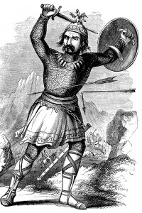 Illustrazione raffigurante Gengis Khan