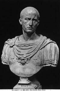 Busto di Nerone, conservato al Museo Archeologico Nazionale di Napoli