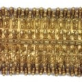 Ornamento in oro finemente lavorato