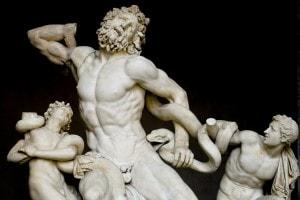 Gruppo scultoreo del Laocoonte e i suoi figli, di Agesandro, Atanodoro e Polidoro