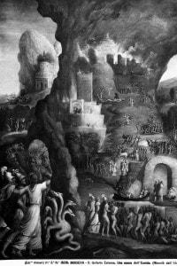 Discesa di Enea negli Inferi, opera di Niccolò dell'Abate