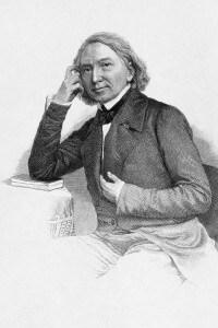 Ritratto di Karl Lachmann, filologo tedesco